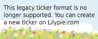Lilypie Zweiter Ticker