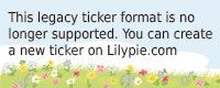 Lilypie Zweiter Ticker